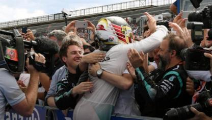 foto: Hockenheim: La holgura de Hamilton en el fin de semana de pesadilla para Rosberg