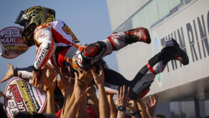 foto: MotoGP | La carambola de Motegi como colofón del pacto de Marc Márquez con la historia