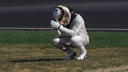 foto: F1/ MALASIA: El motor quema a Hamilton y dispara a Rosberg hacia el Mundial