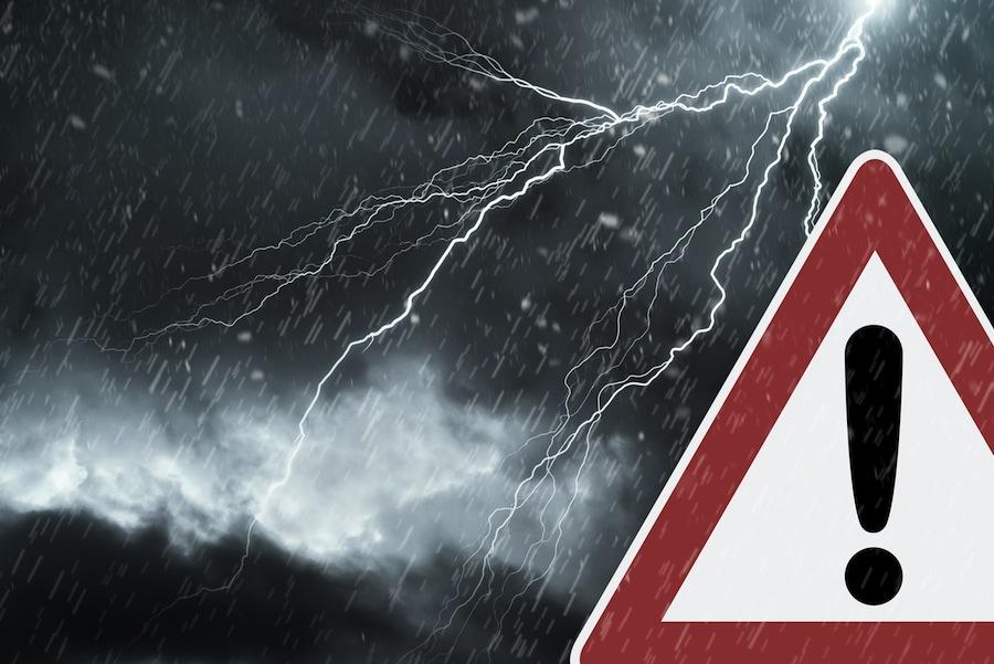 Peligro por climatología en la carretera