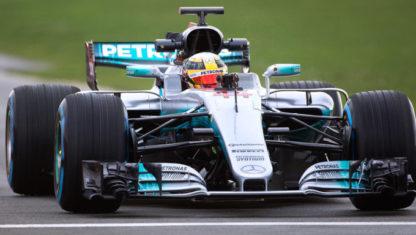 foto: Mercedes enseña su nuevo W08: una bestia para mantener la hegemonía en el Mundial de F1
