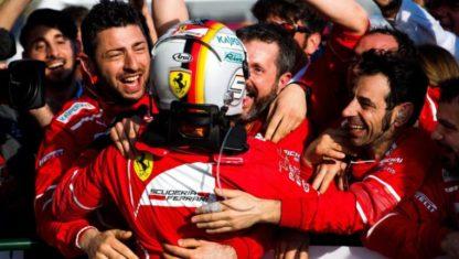 foto: F1 Australia | Ferrari y Vettel, mucho más que la victoria inaugural