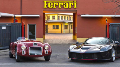 foto: Ferrari festeja su 70 aniversario: la celebración del mito