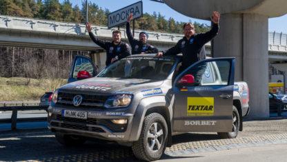 foto: Rainer Zietlow lo vuelve a hacer: de Dakar a Moscú en 3 días, 4 horas y 54 minutos en coche
