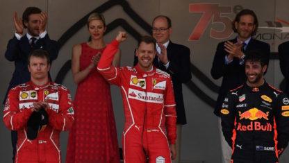foto: ¿Ayudó Ferrari de forma premeditada a Vettel a ganar en Mónaco en detrimento de Raikkonen?