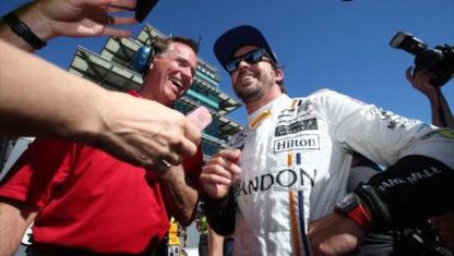 foto: La IndyCar, una terapia de felicidad para Fernando Alonso