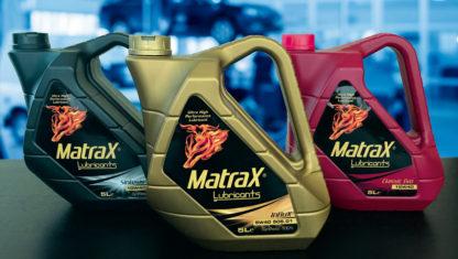 foto: Diversidad de gamas y formatos en Matrax Lubricants