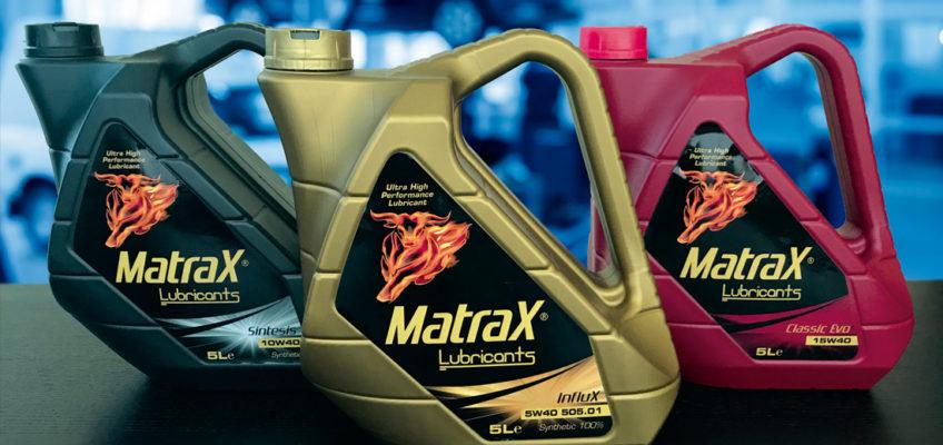 Diversidad de gamas y formatos en Matrax Lubricants