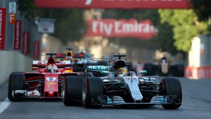 foto: El conflicto de Bakú como inflexión: ¿Guerra abierta entre Vettel y Hamilton?