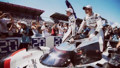 foto: LE MANS | Porsche sobrevive a 24 horas dramáticas y suma su tercera corona seguida