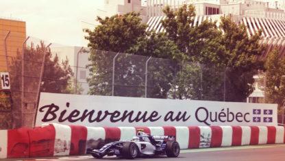 foto: Así sufren los frenos la mítica curva del Muro de los Campeones en Montreal