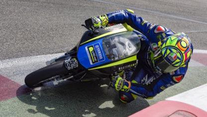foto: Veinte días después de romperse la tibia y el peroné, Rossi quiere volver en… ¡Aragón!