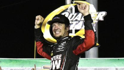foto: NASCAR | Truex intensifica la presión sobre Kyle Larson