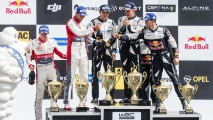 foto: WRC | Deutchsland Rally: Victoria de Tänak y vuelco en el Mundial. Ogier nuevo líder