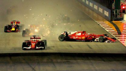 foto: F1 | Singapur: El aguacero nocturno que cambia de súbito el Mundial