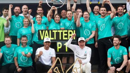 foto: Bottas renueva en Mercedes y confirma la apuesta de continuidad de los aspirantes para 2018