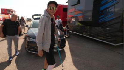 foto: Rossi lo consigue y correrá en Aragón… sin mirar al Mundial