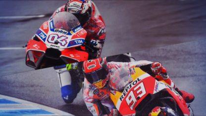 foto: Márquez -Dovizioso (sin olvidar a Viñales): el pulso final hacia el título