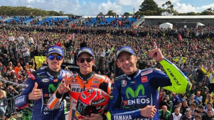 foto: MotoGP | Australia: Márquez corona la tormenta perfecta en la debacle de Dovizioso