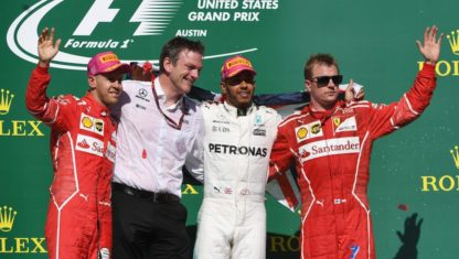 foto: F1 | EEUU: Hamilton sentencia el Mundial