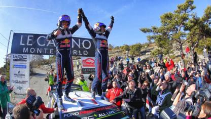 foto: WRC | Ogier comienza la defensa del título con nueva victoria en Montecarlo