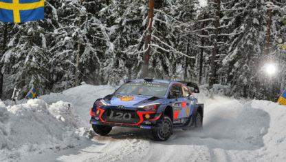 foto: WRC | Neuville entra en la historia del Rally de Suecia y se pone al frente del Mundial