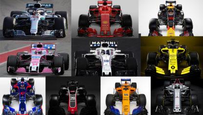 foto: F1 | ¿Quién es quién en la nueva temporada de Fórmula 1 2018?