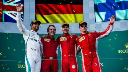 foto: F1 | La estrategia de Ferrari se impone a la potencia de Mercedes, en Australia GP