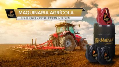 foto: Equilibrio y protección de la maquinaria agrícola, a través del lubricante