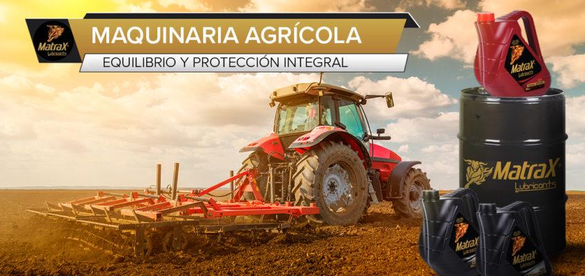Equilibrio y protección de la maquinaria agrícola, a través del lubricante