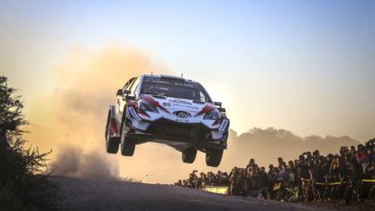 foto: WRC | Tanak se reivindica en el Rally de Argentina y logra su primer triunfo con Toyota