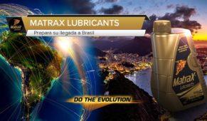 foto: MatraX Lubricants prepara su llegada a Brasil y América Latina