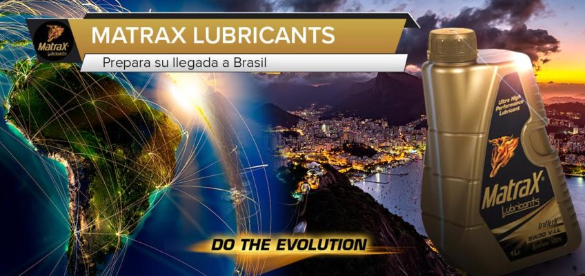 MatraX Lubricants prepara su llegada a Brasil y América Latina