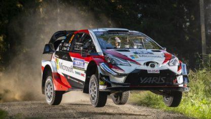 foto: WRC | Dominio absoluto de Ott Tanak, que se alzó con la victoria del Rally de Finlandia.