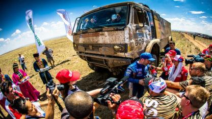 foto: El rally Ruta de la Seda entra en su quinta jornada