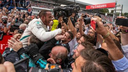 foto: Espectacular victoria de Hamilton en Alemania