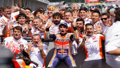 foto: MotoGP: Marc Márquez consigue su novena victoria consecutiva en el GP Alemán