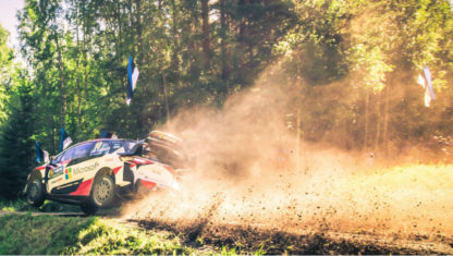 foto: WRC Finlandia: Ott Tänak gana la primera superespecial