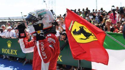 foto: Vettelganael Gran Premio británicoenSilverstone