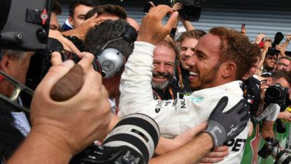 foto: Hamilton le roba el GPitaliano aRaikkonenyconsolidasu liderazgo