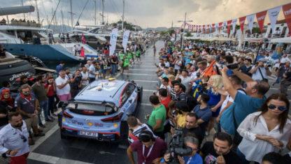 foto: Andreas Mikkelsen se impone en la pruebainauguraldel Rally deTurquía