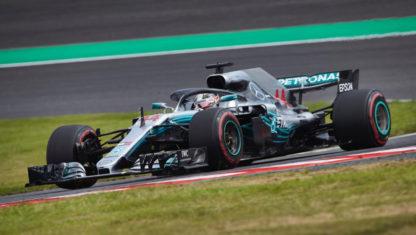 foto: GP de México: Hamilton, a coronarse en el Hermanos Rodríguez