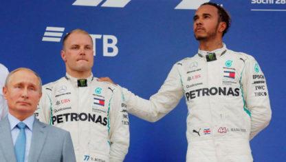 foto: Victoria amarga para Hamilton en el GP deRusia