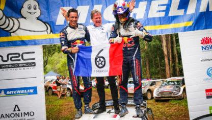 foto: Rally de Australia: Ogier logra su sexto Mundial y Toyota el de Constructores