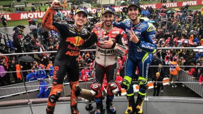 foto: GP Valencia MotoGP: Lección magistral de Dovizioso bajo el diluvio en Cheste