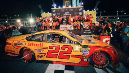 foto: NASCAR 2018: Joey Logano, Campeón por sorpresa en Miami
