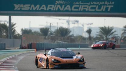 foto: El McLaren 720S GT3 muestra sus garras en su debut en competición