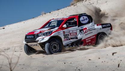 foto: Fernando Alonso probará un Toyota del Dakar 2019 en abril