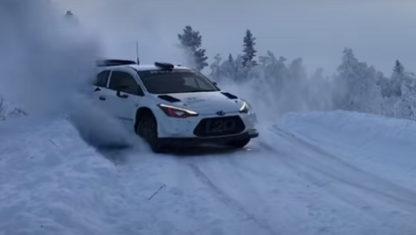 foto: Accidente de Sébastien Loeb en los test previos al Rally de Suecia