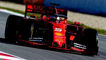 foto: Test de Pretemporada de F1 2019: Ferrari deslumbra y Mercedes disimula